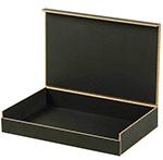 Composite Lazer Cut Black Cigar Style Boxes