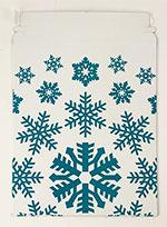 9 1/2 x 12 Snowflake Self Seal Mailer