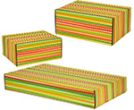 Bright Stripes Side Seal Shipping Boxes