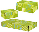 Patchwork Side Seal Shipping Boxes