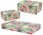 Floral Fun Side Seal Shipping Boxes