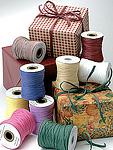 Paper Raffia Ribbon On Rolls