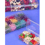 Rigid Clear Hinged Partition Boxes