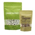Custom Printed 5mil Rice Paper Laminate Window Bags