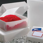 Recycled Frosted Polyethylene Postal Mailers