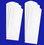 White Paper Pharmacy Bags