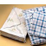 Professional Vinyl Accessory Bags w/White Nylon Zipper