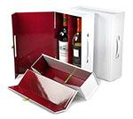Rigid Magnetic White Wine Box