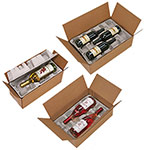 Pulp Fiber Wine Bottle Shippers