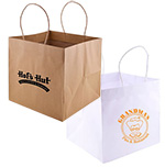 Low Minimum Printed Wide Gusset J-Fold Bags