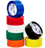 Colored 2.2 mil Poly Tape