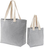 Grey Canvas Handle Totes