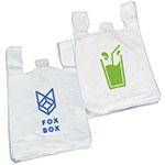 Imprinted Lo Density T Shirt Bags