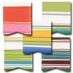 Retro Stripe Ribbon