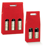 Rosso Red Pebble Italian Wine Boxes