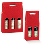 Rosso Red Pebble Italian Wine Boxes