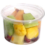 Biodegradable 16 oz. Clear Deli Container