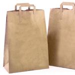 Natural Kraft Handle Sack Bags