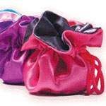Reversible Satin Puffs