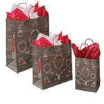 Shabby Shic Designed Paper Shopping Bags