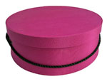 Cerise Hat Boxes
