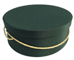 Dark Green Hat Boxes
