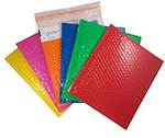 Shiny Bubble Self Seal Mailers