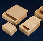 Wooden Slide Top Boxes