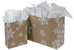 Snow Days Designed Paper Shopping Bags