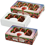 Chocolate Covered Strawberry Window Boxes