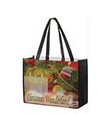 Custom 16x6x12 Dye Sub Full Color Trapazoid NonWoven PET Bags