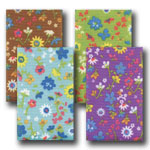 Sweet Floral Grosgrain Designed Ribbon