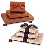 Luxury Textured Swirl Set-Up Boxes