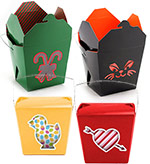 Themed Quart Windowed Chinese Boxes