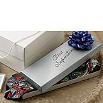 Gloss White 2 Piece Tie Boxes