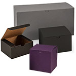 Matte Groove Tuck 1 Piece Gift Boxes