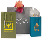 Matte Colored Imprinted Euro Totes
