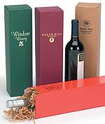 Single 1 Piece Wine Box