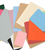 Pinch Bottom Colored Paper Bags, Blank