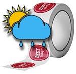 Weather-Proof Printed Die-Cut Labels
