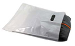 Low-D White Die-Cut Handle Plastic Bags