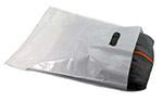 Low-D White Die-Cut Handle Plastic Bags