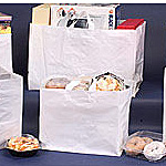 Wide Gusset Plastic Bags