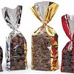 Metallic Wide Band Polypropylene Bags