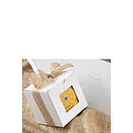 1 Piece White Windowed Gift Box