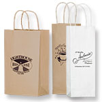Short Run Wine Bottle Bags