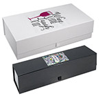 Rigid Magnetic Full Color Imprinted Wine Box