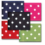 Wire Edge Polka Dots