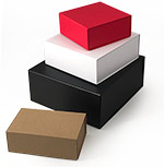 Peel-n-Stick Matte Finish Magnetic Gift Boxes