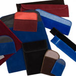 Flap Style Velour Gift Pouches